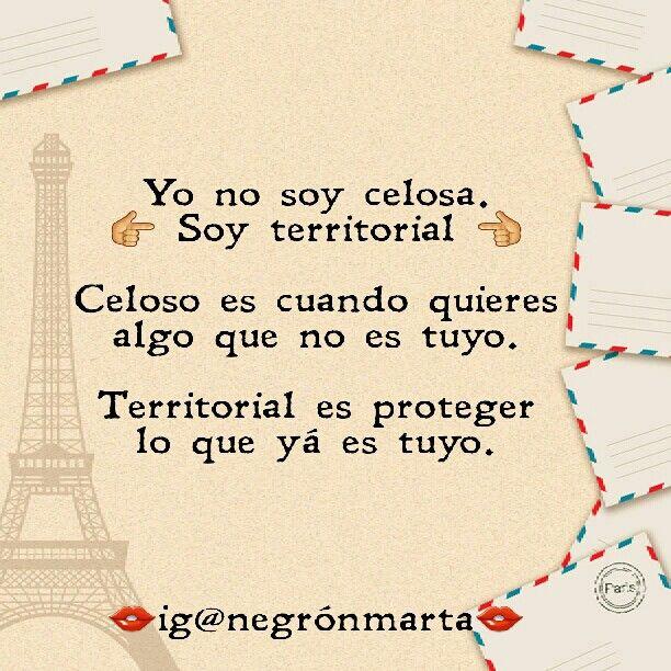 """Soy territorial"" (By me: ig@negrónmarta)"