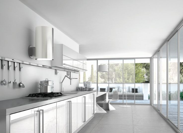 Cylindrical and extra small, Alma encompasses the best in high-performing technologies: Energy motor, powerful HFH odour-trapping filter, perimetric extraction panel, and circular LED lighting to light up the hob.