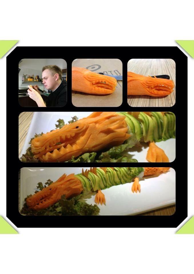 Dragon - california avocado made by Szmex