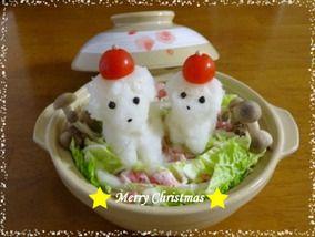 ひつじさんの大根おろし鍋deメリークリスマス☆|レシピブログ
