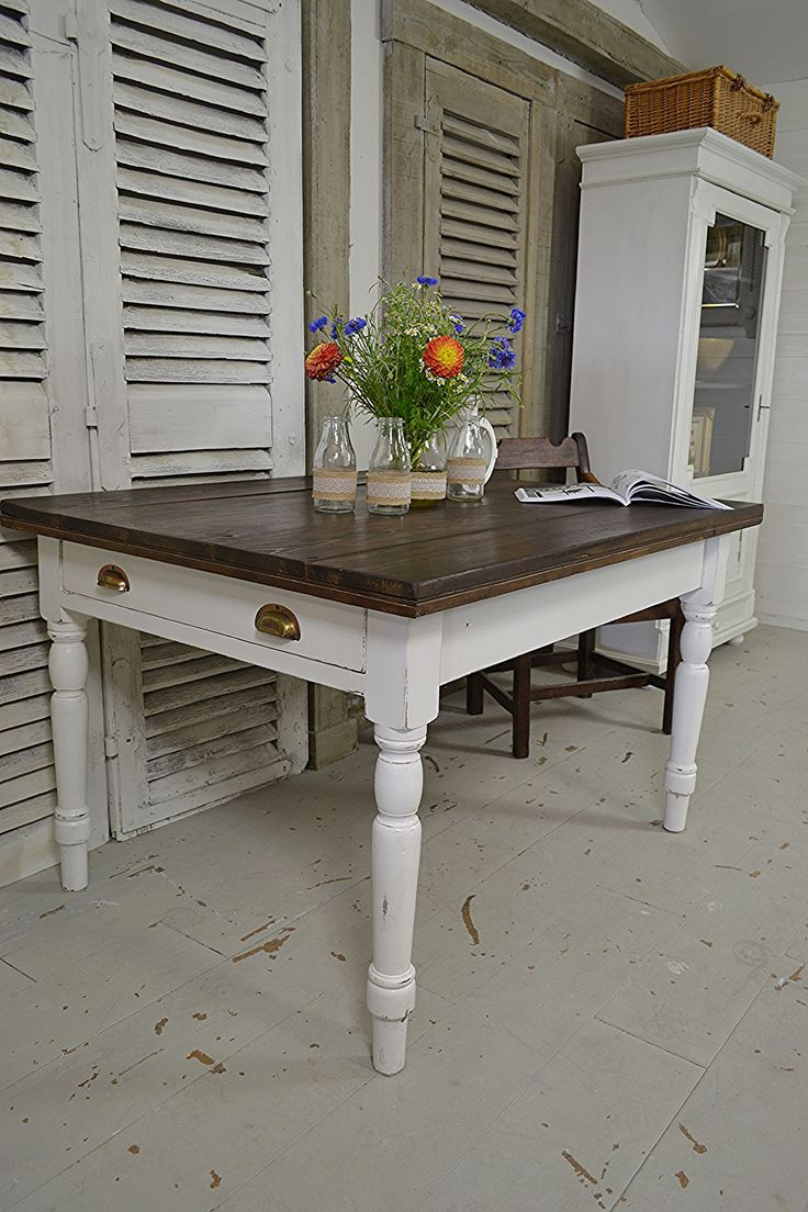 We Adore This Antique Pine Table Which Weu0027ve Painted In Farrow U0026 Ball All