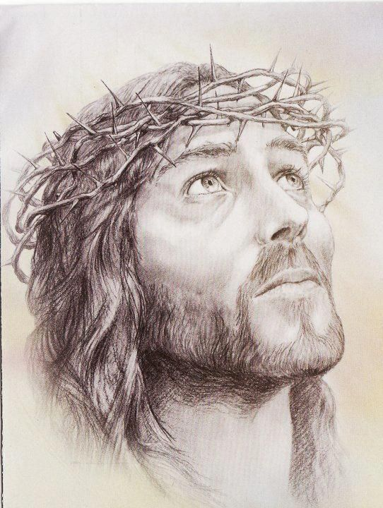jesus drawings face christ pencil easy christian amazing paintings bible portraits