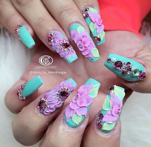 Best 25 3d nails ideas on pinterest 3d nail art 3d nail taken by veronicasnailart on wednesday march 2016 prinsesfo Gallery
