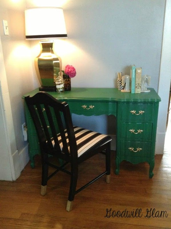 17 Best Images About A Painted Desk On Pinterest Chalk