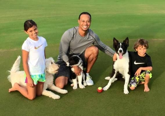 Tiger Woods shares photos with his children - http://www.thelivefeeds.com/tiger-woods-shares-photos-with-his-children/