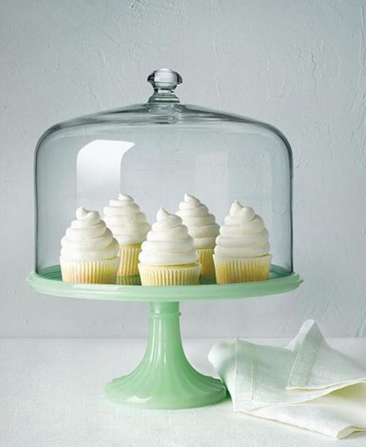 112 Best Cake Stands With Domes Images On Pinterest