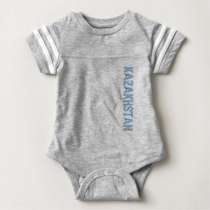 Kazakhstan Baby Bodysuit - original gifts diy cyo customize