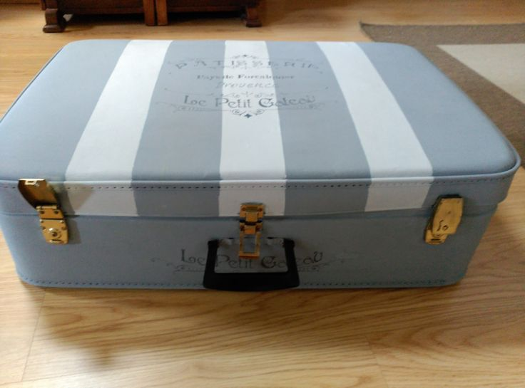 maleta pintada