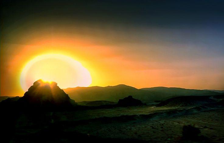Sunset-Desert of Judea