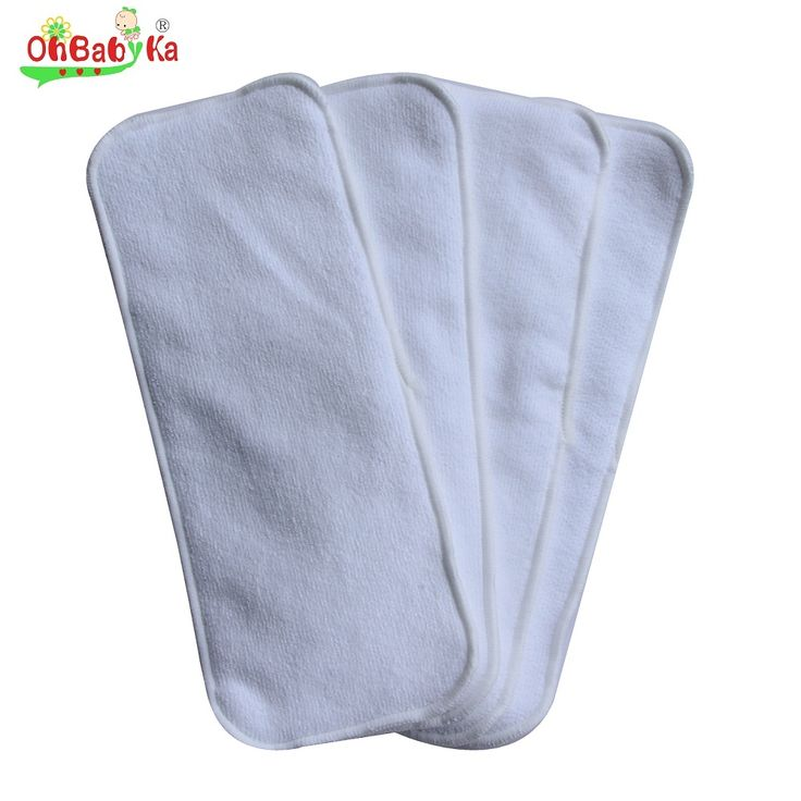 Baby Diaper Nappy Changing Pads Covers Washable Cloth Diaper Inserts 5pcs/Lot Reusable Bamboo Cloth Diapers Nappy Changing Mat