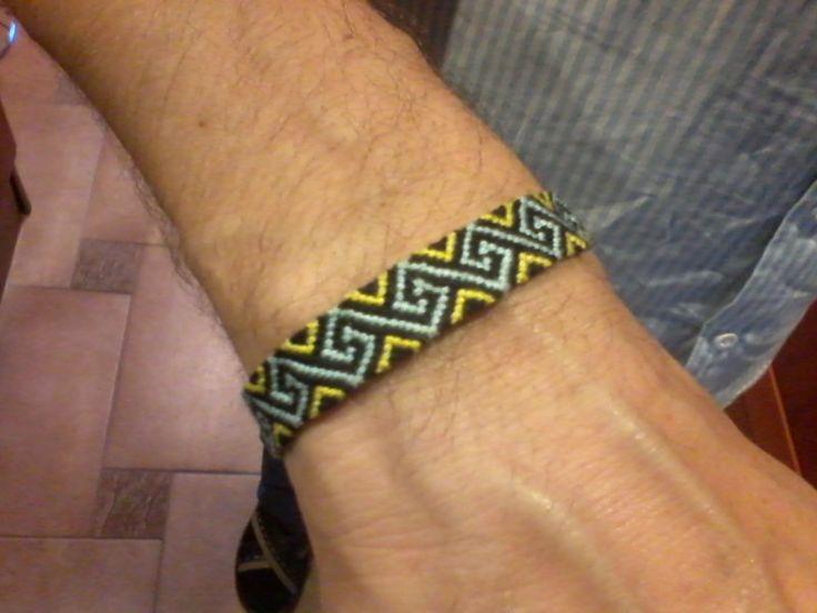 """Mulina bracelet """"wave"""" made for dad."""