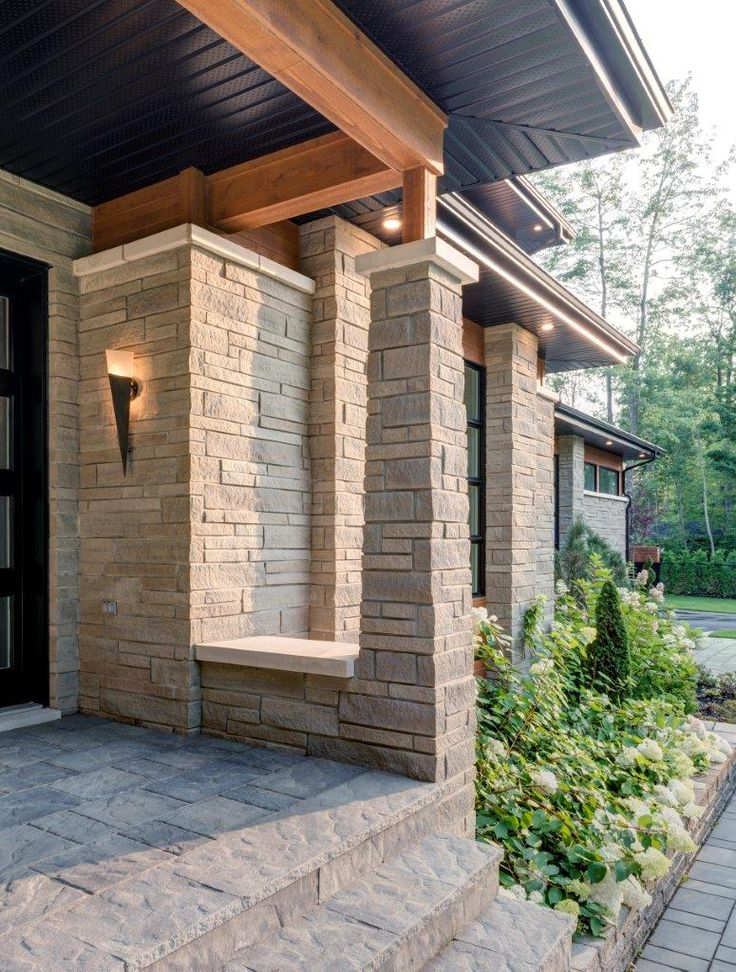33 best stone is modern images on pinterest - Building river stone walls with mortar sobriety and elegance ...
