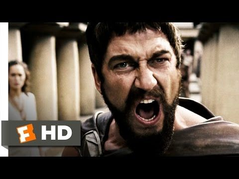 This is Sparta! - 300 (1/5) Movie CLIP (2006) HD - YouTube