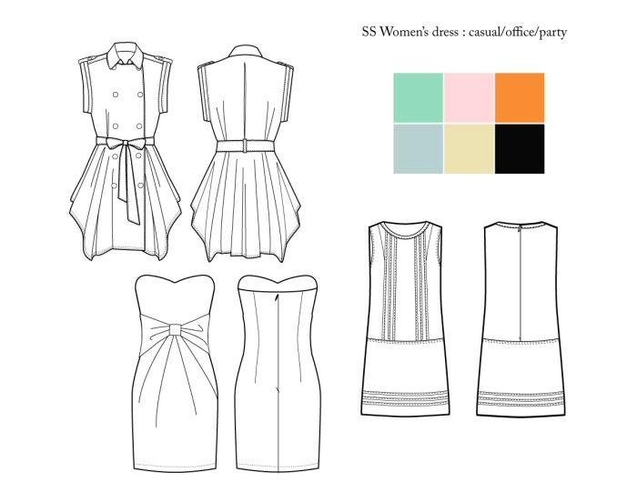 Meer dan 1000 ideeën over Clothing Sketches op Pinterest ...