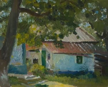 "Saatchi Art Artist Mariia Hurianova; Painting, ""landscape"" #art"