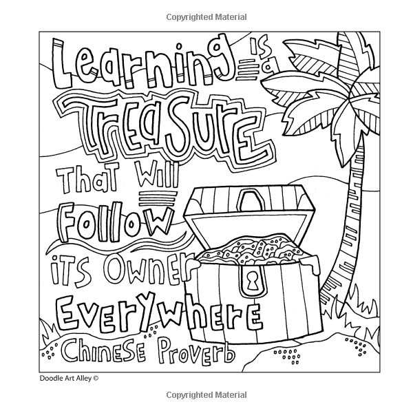 Mistakes Are Proof That You Are Trying Coloring Pages · 1000 Images About Coloring  Pages Sayings On Pinterest