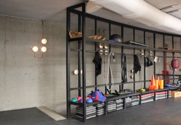 boutique fitness studio industrial - Google Search