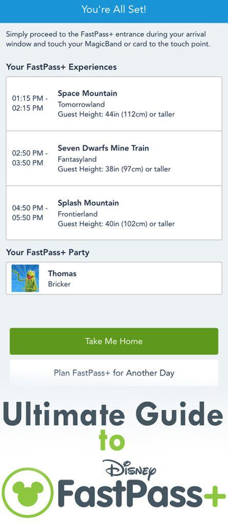 Tips for FastPass+ at Walt Disney World!