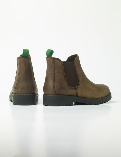 Leather Chelsea Boots C0022 Boots at Boden