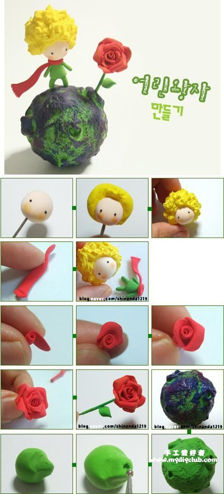 轻粘土制作 手工diy,Clay Crafts, Fimo, Sculpey , Modelling , Polymer Crafts with Sculpting clay , Free Kids Activities , Clay Projects, Templates and Ideas , Cute, Adorable , Kawaii, Critters and Creatures