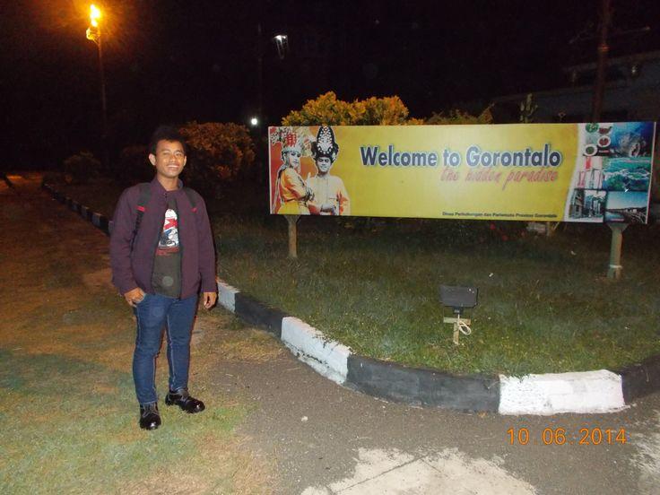 untuk pertama kalinya menginjakkan kaki di Gorontalo