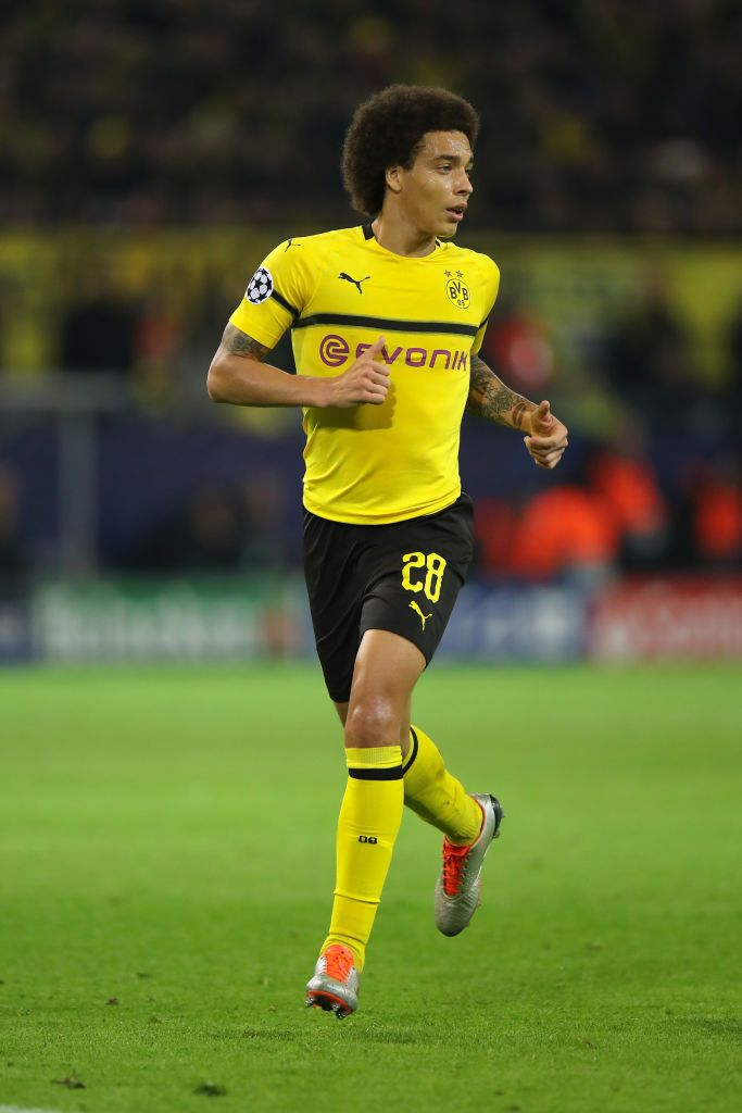 DORTMUND, GERMANY - OCTOBER 24: Axel Witsel Of Borussia Dortmund During The  Group A Match Of The UEFA… | Borussia Dortmund, Dortmund, Belgium National  Football Team