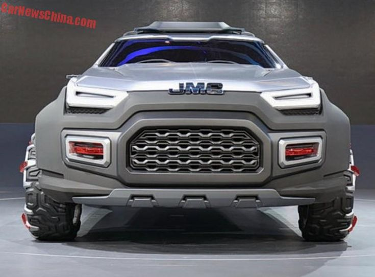 JMC Yuhu Concept unveiled at the 2015 Shanghai Motor Show