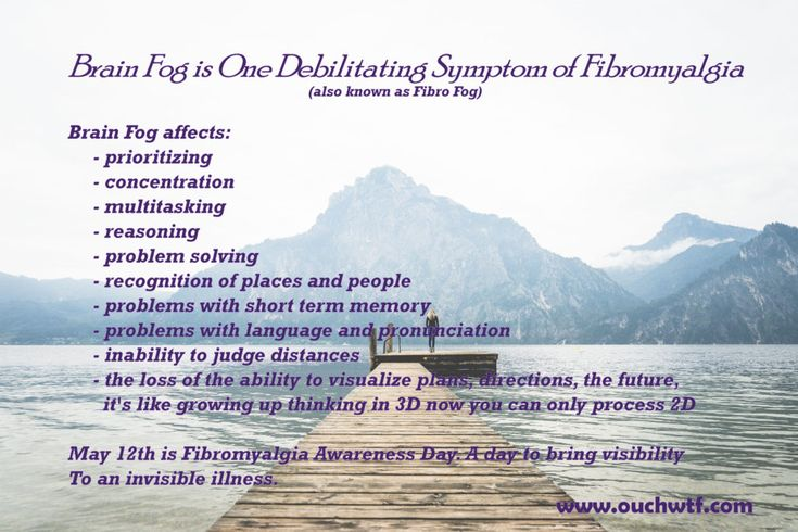 Fibro (Brain) Fog Definition
