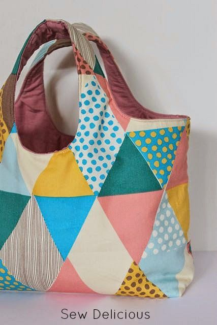 Sew Delicious: Small Big Tote Bag.