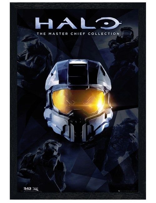 Halo Master Chief Collection Black Wooden Framed Poster ($33.30)