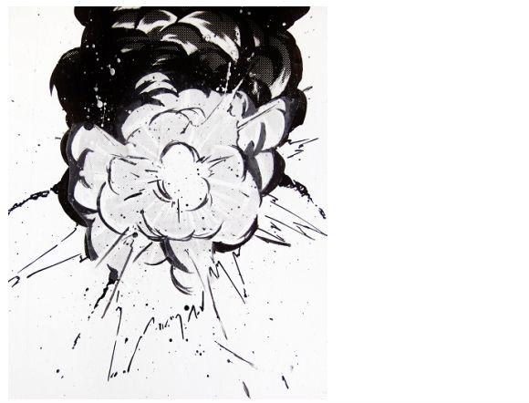 漫画 爆発 描き方05