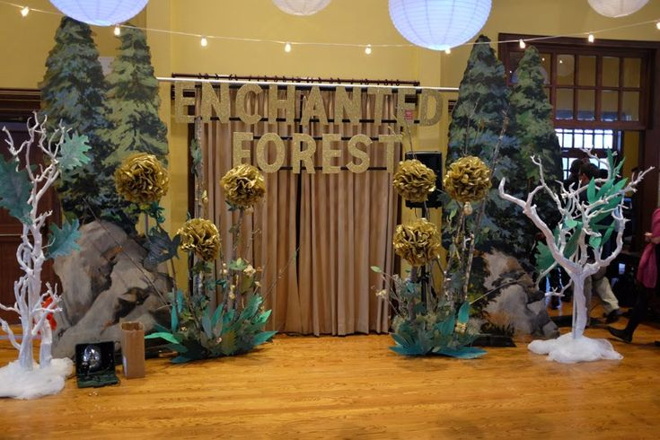 enchanted forest decorations - Google Search