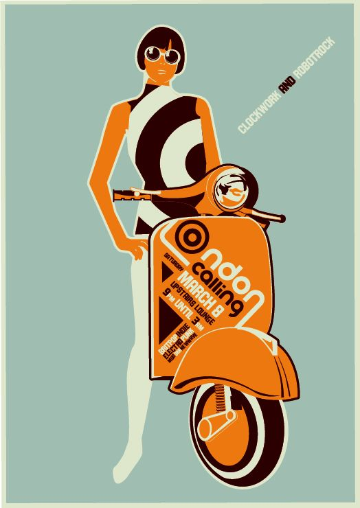 London Calling Vector Poster Rob Brooks Behance #London, #England, #travel, #pinsland, https://apps.facebook.com/yangutu