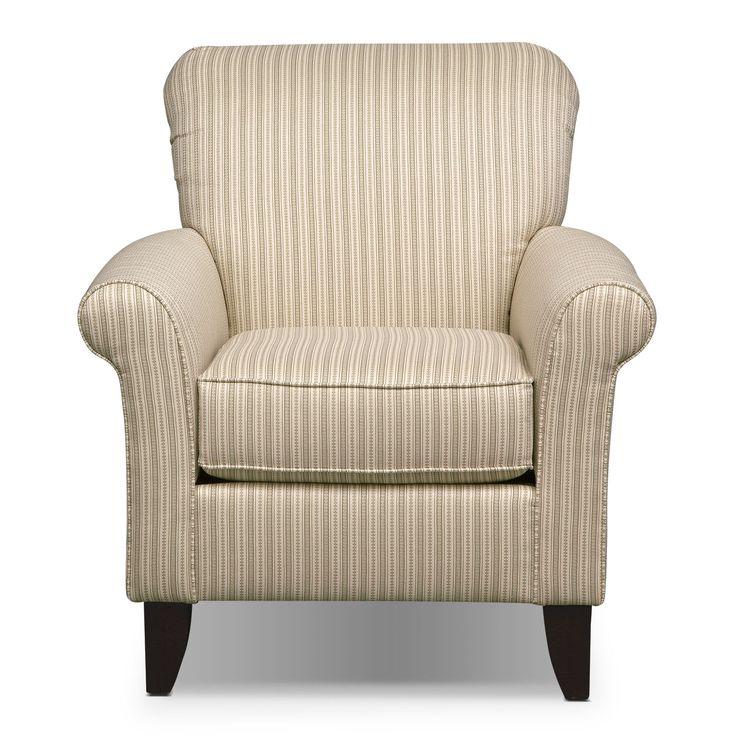Colette Khaki Accent Chair