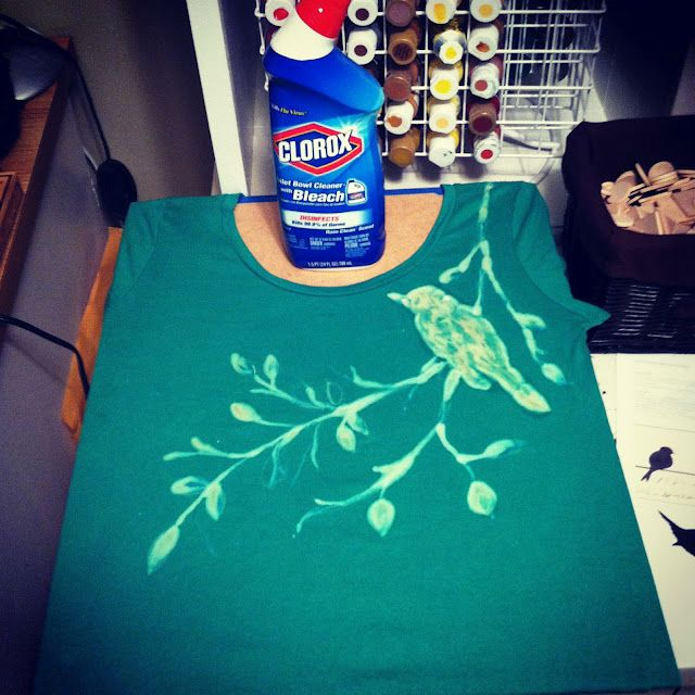 Toilet Bowl Cleaner T-Shirt Art!  So much more fun than cleaning the toilet.