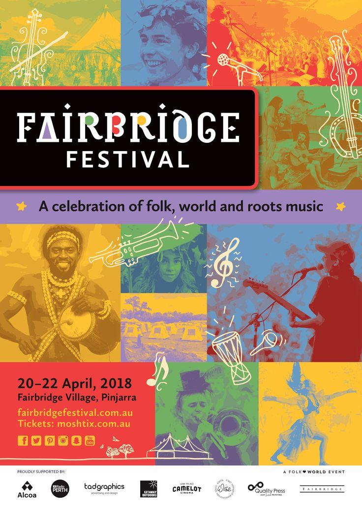 2018 Fairbridge Festival poster