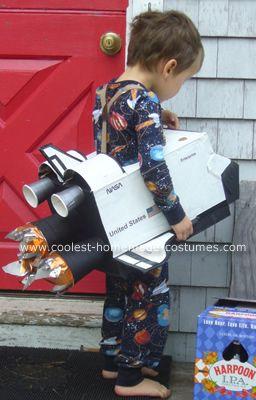Homemade Space Shuttle Halloween  Costume
