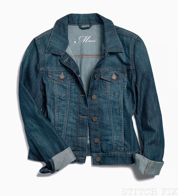 Our Friday Fixation: the denim jacket. Versatile, effortless, and perennially cool, this lightweight layer takes your summer wardrobe into fall with style. (Shown: Kalie Denim Jacket)