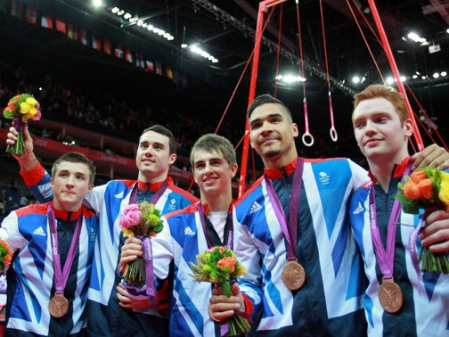Team GB Bronze Artistic Gymnastics London 2012