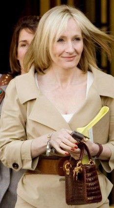 Joanne Kathleen Rowling  Born 31st July, 1965    My heroine.