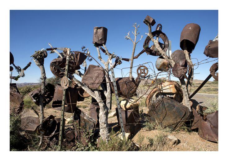 Chloride Fence, Arizona, USA - Noel Hodnett