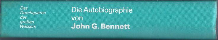 Die  Autobiographie von John G. Bennett (German Hardback) Gurdjieff