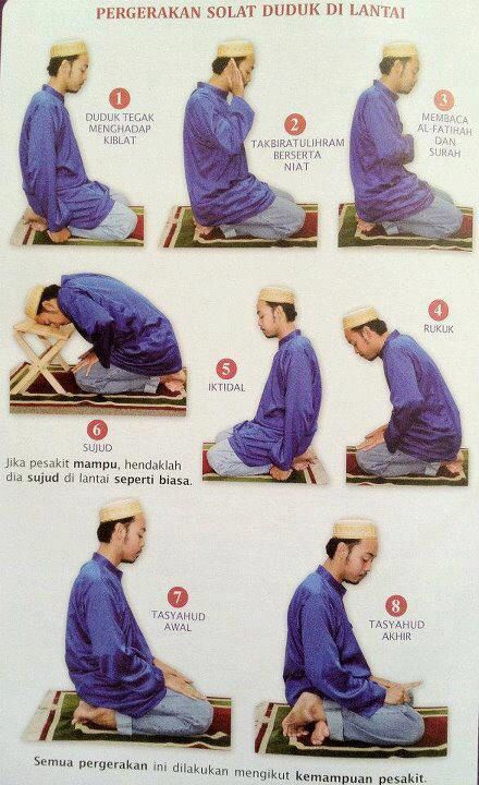 Not well, unable to stand. Do it in sitting position