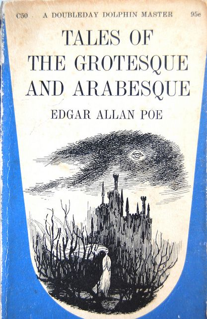 Tales of the Grotesque and Arabesque by Edgar Allen Poe (cover design by Edward Gorey)