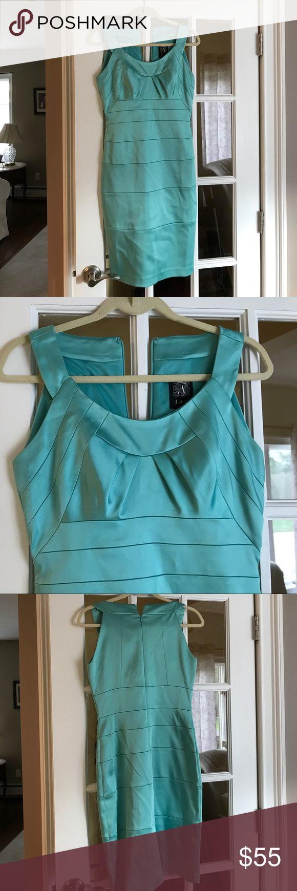 Dress Aqua satin Dresses Wedding