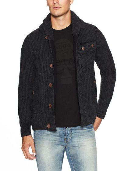 G-Star Correctline Wool Cardigan Sweater