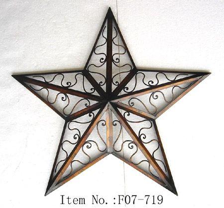 Joyful Metal Star Wall Decor   285527   Home Design Ideas ...
