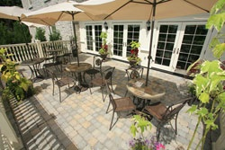 The Spa Day Retreat has 3 fully functional and picturesque patios. Take advantage of the beautiful grounds while you enjoy a beverage, lunch or even before or after your services (weather permitting)