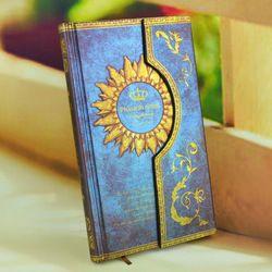 Online Shop Envío gratis estilo europeo Vintage Retro con tapa dura rápida magnética magia cuaderno y bloc de notas del diario para garabato y estudio Aliexpress Mobile