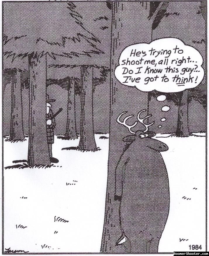 Far Side Hunting/Gary Larson